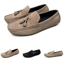 Casual Men's Loafers Slip On Flats Wing Tip Driving Moccasins Shoes Round Toe Sz