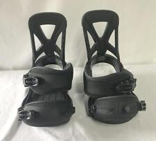 Burton Custom Reflex Men's Snowboard Bindings Black Red Size Large NEW