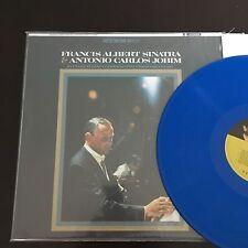 FRANCIS ALBERT SINATRA & ANTONIO CARLOS JOBIM BLUE VINYL, 180 GRAM AUDIOPHILE