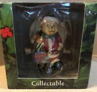 The Spirit Of Christmas Bear Carrying Christmas Presents!Vintage Collectible NIB