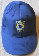 NEW US NAVY NCTAMS LANT DETACHMENT ICELAND BASEBALL CAP. BLUE.