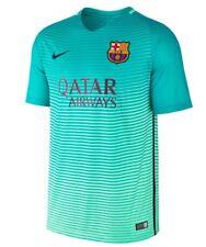 Nike FC BARCELONA Estadio tercera Top T-Shirt 776854-390 Aqua Verde Negro Talla L