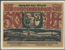 Notgeld - Stadt Großbreitenbach - 50 Pfennig - o. D.- Motiv 4: Porzellan