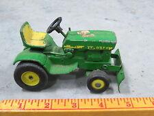 Vintage John Deere 140 Toy Lawn Garden Tractor Original Ertl 1/16 with DOZER