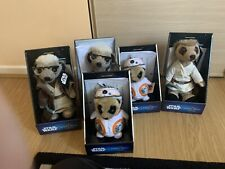 5 Meercat soft toy bundle - Limited Editions BB8 Brand New