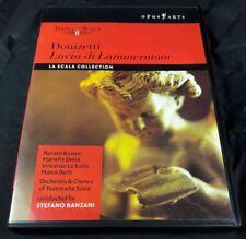 1 DVD Donizetti Lucia di Lammermoor Like New Stefano Ranzani Opus Arte La Scala