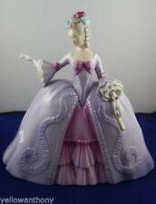 Franklin Mint Porcelain Queen Marianne The Minuet Antoinette Purple Figurine