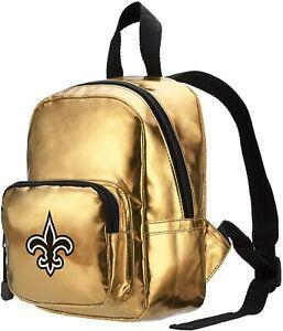 NWT NFL New Orelans Saints Spotlight Women's Backpack Gold
