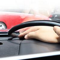 Carbon Fiber Car Interior Dashboard Gap Sealing Strip Rubber Accessories 160cm