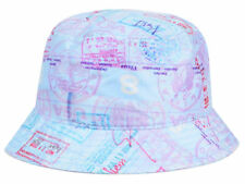 Official Passport Bucket Hat Cap Large (L) Size Baby Blue Pink