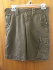* WOMEN'S * OLD NAVY *JUNIORS SIZE 1 * MIDRISE BROWN  SHORTS *