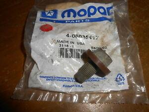 NOS Mopar OEM Oil Drain Plug 1962 - 2007 Chrysler Dodge Jeep Wrangler 6035417