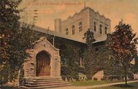 Postcard St John's PE Church Lansdowne PA