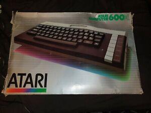 ATARI 600XL Vintage Computer Boxed