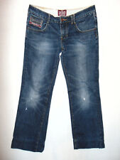 Superdry - W32 L30 - Zip-Fly - Ladies Blue Denim Jeans