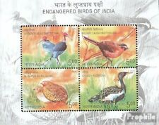 India Block37 (complete.issue.) unmounted mint / never hinged 2006 Birds