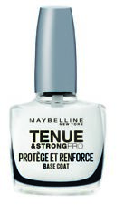 Vernis Protége et Renforce base Coat Rapide Tenue & Strong Gemey Maybelline