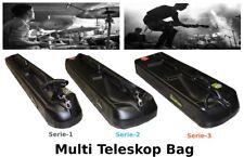 Musik Instrument Noten Mikrofon Studio Ständer Teleskop Tasche Koffer Hard Case