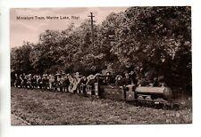 Miniature Train, Marine Lake, Rhyl, Denbighshire
