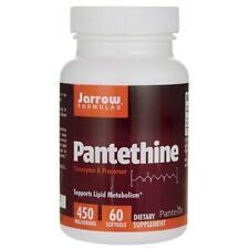 Jarrow Formulas, Inc. Pantethine 450 mg 60 Sgels