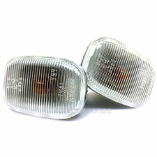 OEM Toyota 94-99 Celica Clear Side Markers Lenses Lights Pair Genuine