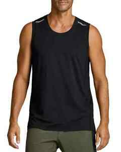 Fourlaps Men's Level Tech Tank Top in Black-Size: Small