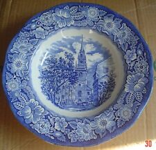 Liberty Blue Blue And White Bowl OLD NORTH CHURCH