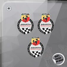 PEGATINA KIT ABARTH OWNERS CLUB VINYL STICKER DECAL ADESIVI