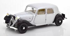 1:18 Solido Citroen Traction 11 CV 1937 silver/black