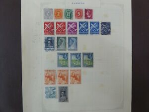 2 pages of Curacao stamps