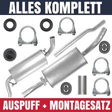 Auspuffanlage Schalldämpferset Auspuff Audi 80 B3 86-91 1.4 1.6 1.8 2.0 1.9 D TD