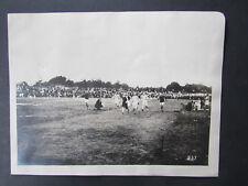 Original c1915 Photograph High School Track Meet Finish Line Petaluma California