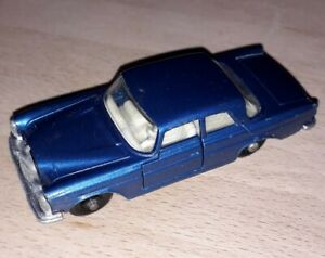 VINTAGE MATCHBOX LESNEY NO.46 MERCEDES 300SE blue rare