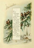 Victorian Trading Co December Serenity Christmas Holiday Greeting Cards 15pk