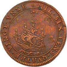 O4019 RARE R2 Jeton Louis XIV Corporations Confrairie Marchands Vins 1691 SPL