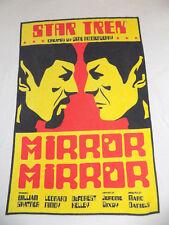 Star Trek Spock Mirror Mirror T Shirt Size XL White