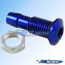 RC Boat 521B40-B water outlet for small hose blue