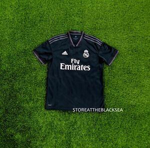REAL MADRID 2018 2019 THIRD FOOTBALL SOCCER SHIRT JERSEY CAMISETA ADIDAS MEN L