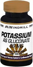 Windmill Potassium Gluconate 99 mg Tablets 100 Tablets (Pack of 2)