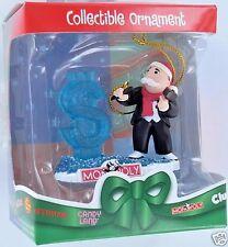 MONOPOLY Ice Carving Dollar Christmas Ornament Basic Fun Retired NIB 1110 2005