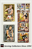 2008 Herald Sun AFL Trading Card MASTER TEAM CARD COLLECTION-COLLINGWOOD