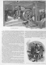 """BANQUE DE FRANCE """" DESTRUCTION DES VIEUX BILLETS """" ADP PAR ALBERT MONTHEUIL 1897"""