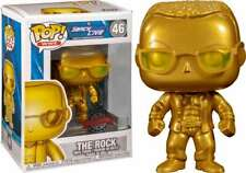 Funko Pop! Wwe: Smackdown Live 20th Anniversary - The Rock (Gold Metallic) #46