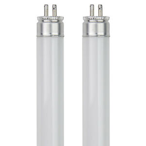 "Two (2) F8T5/CW PLUS Cool White Fluorescent Tube Lamp Light Bulb 8W 12"" FROM US!"