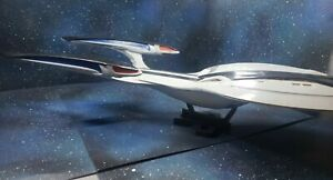 USS Odyssey (Enterprise 1701-F) plastic & resin model  1/2500 19 inches