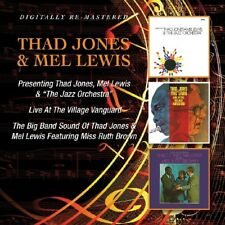THAD & MEL LEWIS JONES - /LIVE AT VILLAGE VANGUARD/BIG BAND SOUND 2 CD NEUF