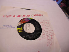 Justin Tyme Me and Johnny/Just Ask For Ruth 45 RPM Dore Records EX promo Garage