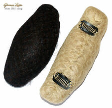 I capelli verso l'alto, rotazione con Clip Marrone Scuro-strumenti per capelli professional styling per capelli