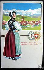 Switzerland~1900's APPENZELL~Ausser Rhoden~COSTUME PC