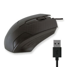 Ratón mouse usb con cable pc ordenador gaming ergonómico raton